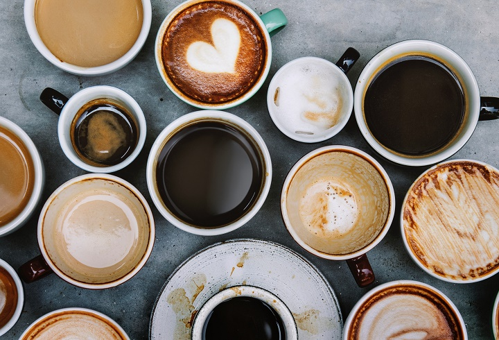 A Complete List of Different Types of Coffee Drink